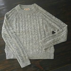 Ambiance Gray Sweater size Large (juniors)